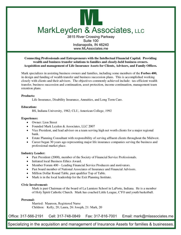 ML resume letterhead